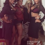 Reality Show Sexpots! Kandi Burruss, Evelyn Lozada, Chrissy Lampkin & Tamar Braxton Glam It Up in New Photoshoot…