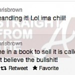 chris brown raz b gay rumor tweets