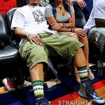 Quick Pics: T.I. and Zonnique Spotted Courtside… [PHOTOS]