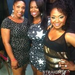 Kandi Phaedra with Fan in Huntsville