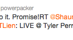 will packer tweet