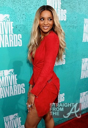 Ciara 2012 MTV Movie Awards-13