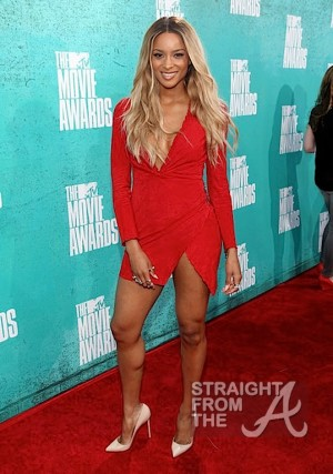 Ciara 2012 MTV Movie Awards-14