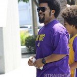 Ice Cube Lakers Game 2012