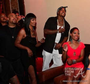 Mama D, Scrappy, Erica Dixon - Love and Hip-Hop Atlanta Premiere 061312-25-1