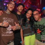 Monica and Brothers with Ludacris -  DJ Infamous Party 061312-14