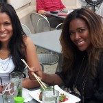 kenya moore tracy johnson twist atlanta
