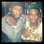 "50 Cent ""Adopts"" Soulja Boy For Father Son Project… [PHOTOS]"