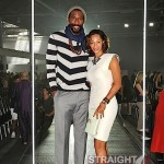 Amare Stoudemire Lanvin 2012 Paris Fashion Week
