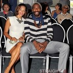 Amaré Stoudemire and His Fiancé Take On Paris Fashion Week… [PHOTOS]
