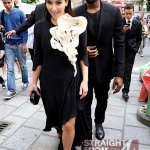 Quick Flix: KimYe in Paris… [PHOTOS]