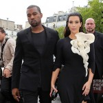 Kanye Kim Kardashian in Paris 070312-14