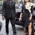 Kanye Kim Kardashian in Paris 070312-6
