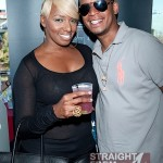 NeNe Leakes and Chef Roble Enjoying Grey Goose Cherry Noir at KWL Summer Soiree
