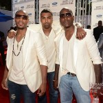 "Threesome? ""TGT"" aka Tank, Ginuwine & Tyresee Throw A Lil Usher Shade… [PHOTOS]"
