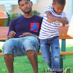 They Say: Usher Seeks To Settle Custody Demands in Light Of Kile's Accident… [PHOTOS]
