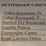 Usher Restraining Order