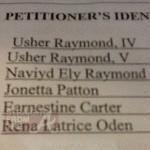 Usher Restraining Order