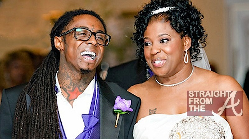 Photo of Lil' Wayne & his  Mother   Jacida Carter