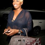 Wardrobe Malfunction? Nene Leakes Barely Avoids Nip Slip in Beverly Hills… [PHOTOS]
