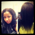 toya carter wright no weave