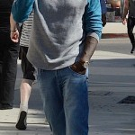 usher shops with grace 07/29/12