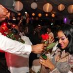 Joseline gets a rose