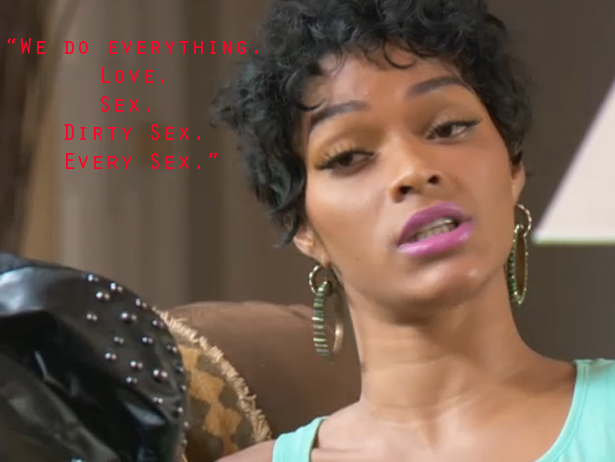 Mimi, Joseline and Stevie J comeplete an intense therapy session with ...