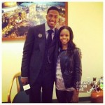 Nick Cannon Gabby Douglas