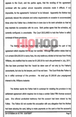 usher raymond v. tameka raymond court doucment 4