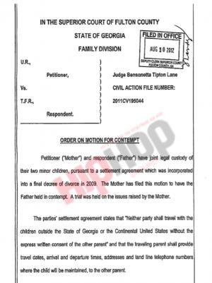 usher raymond v. tameka raymond court doucment 1