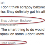 erica dixon shay johnson tweet