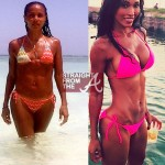 Hot Moms Bikini Bods ~ Pilar Sanders vs. Jada Pinkett-Smith [PHOTOS]