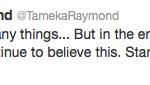 tameka tweet