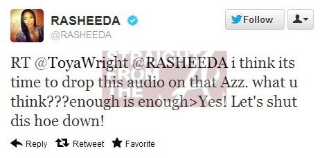 Rasheeda Wants You To ...K Michelle And Toya Beef