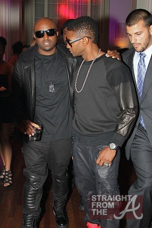 Usher and Friend