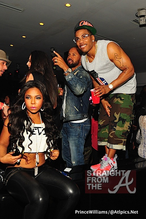 is nelly and ashanti really dating