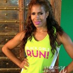 "Quick Flix: Former ""Housewife"" Sheree Whitfield Attends Black Girls Run… [PHOTOS]"