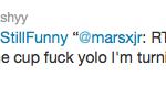 YOLO Tweet