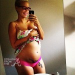 Baby Bump Watch: Amber Rose Bares Her Bun In The Oven… [PHOTOS]