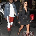 kanye west kim kardashion fashion week 2