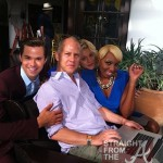 nene leakes on set of new normal 1