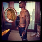 "Tatted Up! Chad ""OchoCinco"" Johnson Gets Ink'd With Evelyn Lozada's Face…"