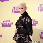 wiz amber pregnant vma 2012 3
