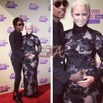 wiz khalifa amber rose vma 2012