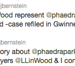 BJ Bernstein Phaedra Parks Tweet 1