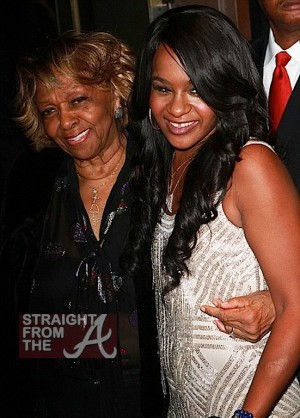 Bobbi Kristina Cissy Houston