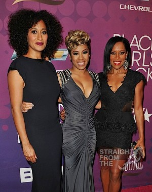 Tracee Ellis Ross, Keyshia Cole, and Regina King
