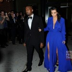 Kim Kardashian Kanye West 102212-2
