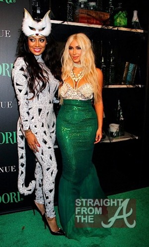 Lala Vasquez and Kim Kardashian